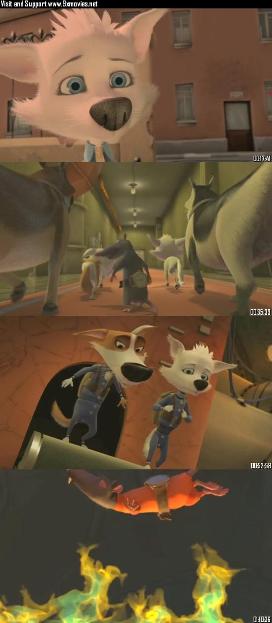 Space Dogs 2010 Dual Audio Hindi 480p BluRay 280mb