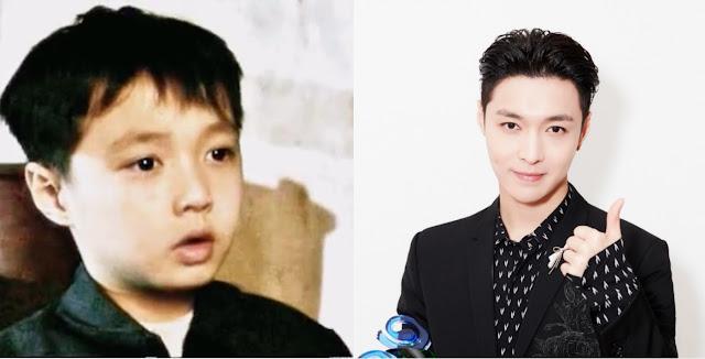 Zhang Yixing 6 years old