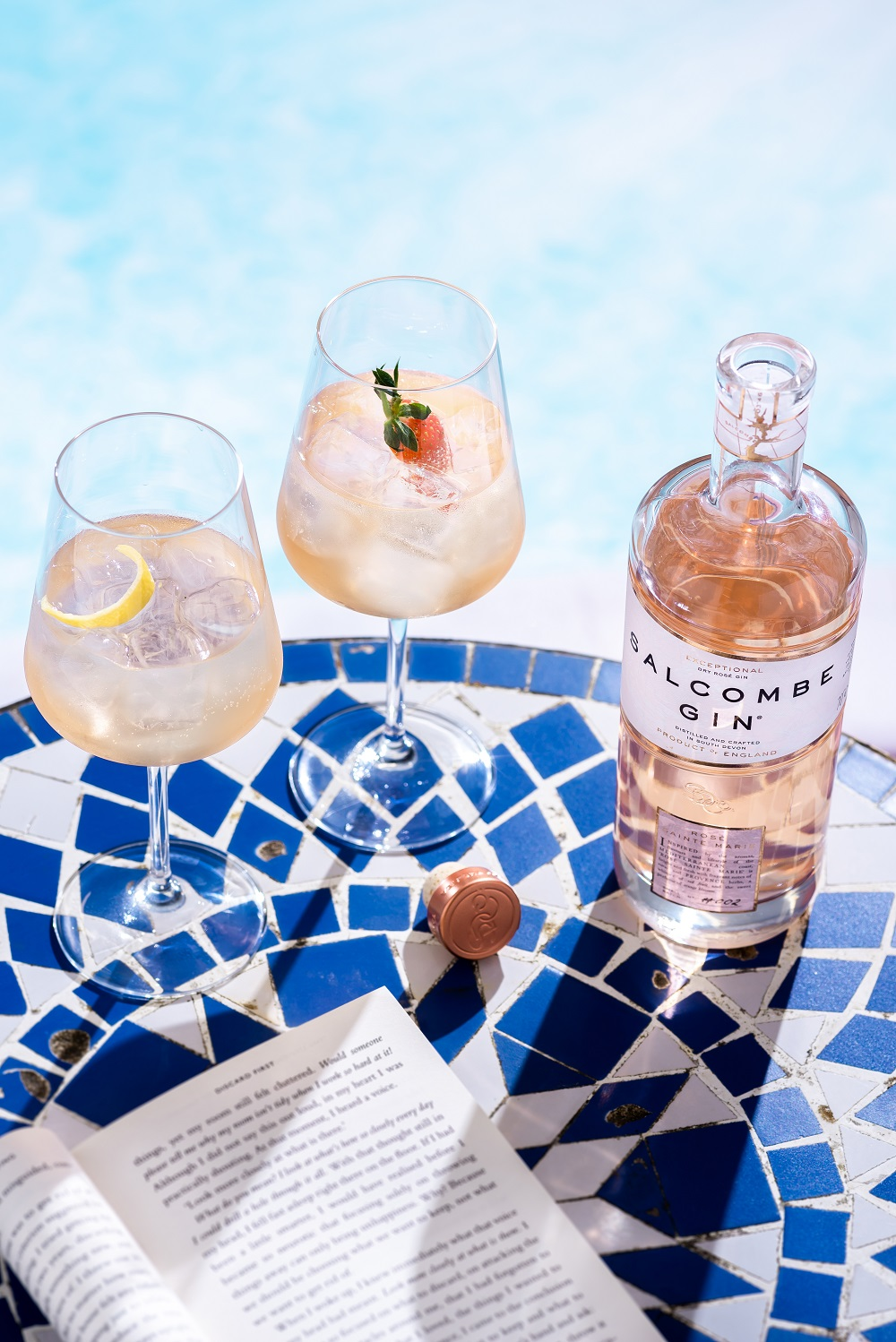Salcombe Gin Launches Mediterranean Inspired Gin 'Rosé Sainte Marie' for Summer 2019