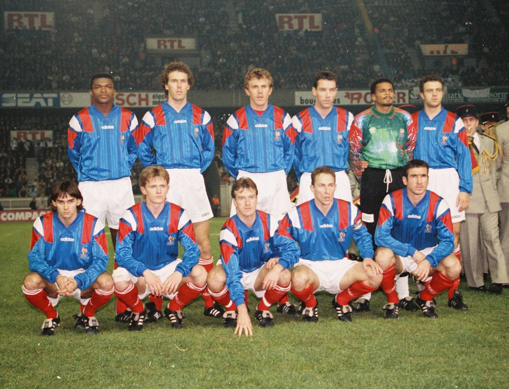 Soccer football or whatever what if france world cup 1994 - Coupe du monde 1994 equipe de france ...