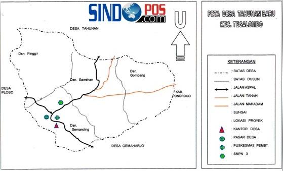 Profil Desa & Kelurahan, Desa Tahunan Baru Kecamatan Tegalombo Kabupaten Pacitan