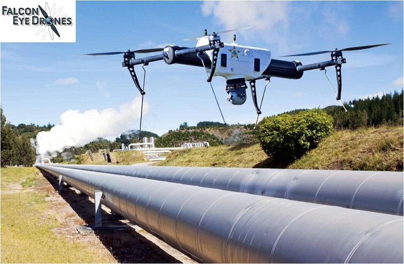 Falcon Eye Drones (FEDS): For economical pipeline inspection and