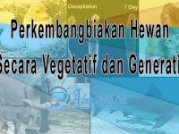 Perkembangbiakan Hewan Secara Generatif dan Vegetatif