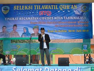 Seleksi Tilawatil Quran tingkat Kecamatan cipedes