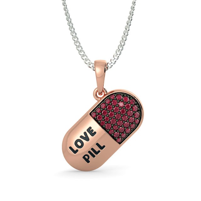 The Love Pill Pendant - BlueStone, 13552 INR