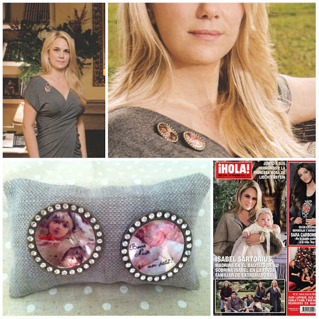 Broches en la revista HOLA