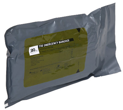 PerSys First Care Emergency 8-Inch Tactical Multi Bandage