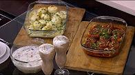 برنامج أميرة في المطبخ حلقة الثلاثاء 30-5-2017 طريقة عمل بطاطس و خرشوف محشي - بلح باللبن - عصير بلح بالشيكولاتة مع اميرة شنب
