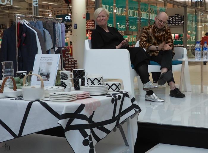 Minna Kemell-Kutvonen ja Sami Ruotsalainen Finnish Design Dayssa