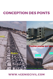 Conception et exécution de ponts  génie civil
