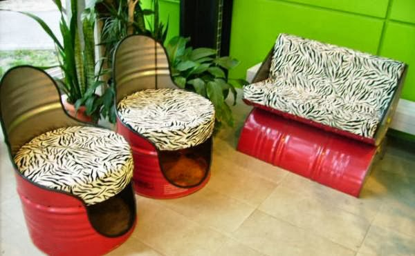 The Art Of Up-Cycling: Diy Outdoor Furniture- Ideas To
