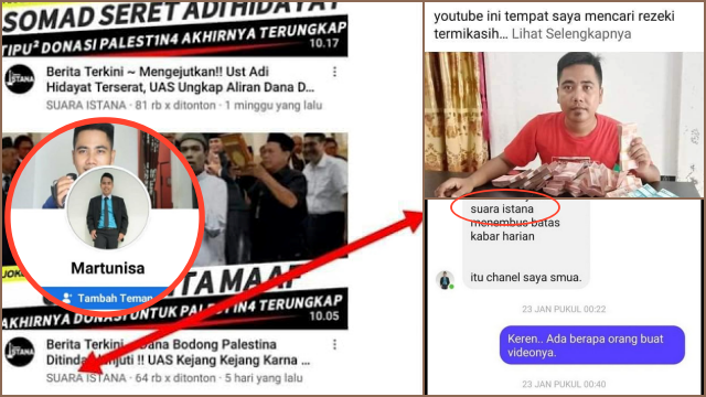 Martunisa, Diduga Pemilik Akun Youtube Pemfitnah UAH Viral, Ngaku Bukan Channel Dia