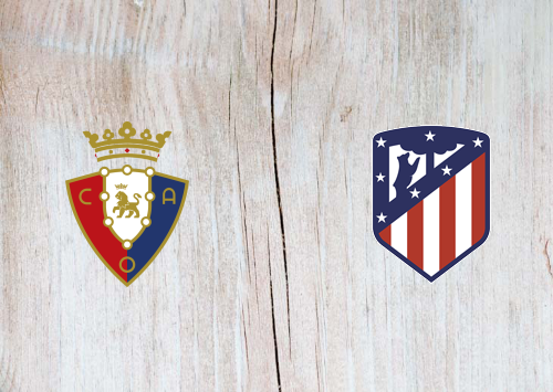 Osasuna vs Atletico Madrid -Highlights 31 October 2020