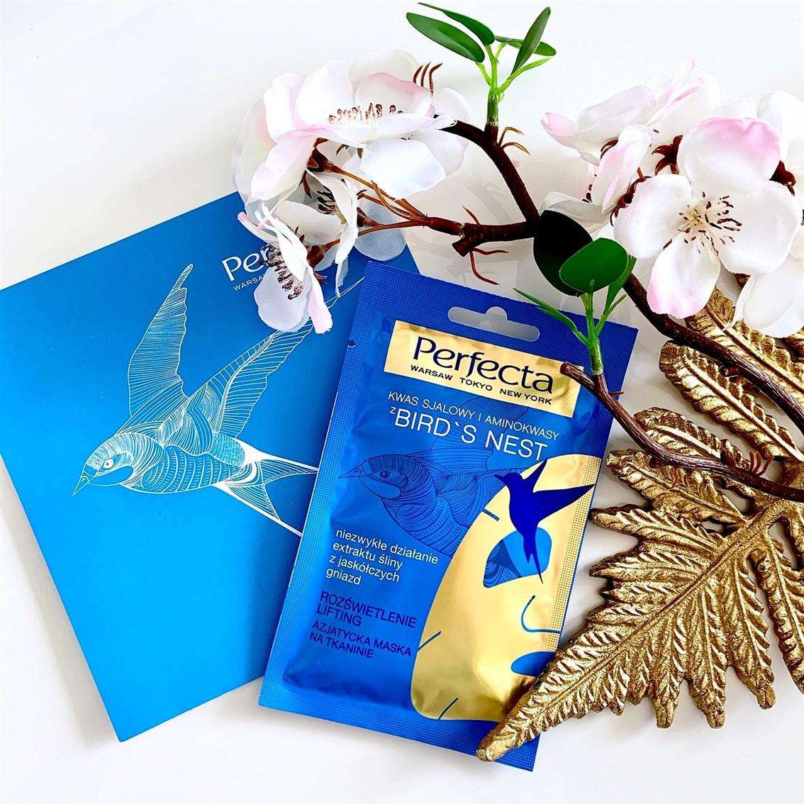 Perfecta Bird's Nest azjatycka maska na tkaninie opinie