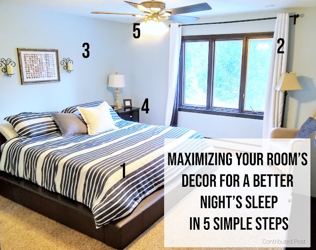 How 5 simple changes to what you put in your room can make a hugely positive impact on your sleep and your health.