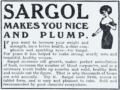 Sargol makes you nice and plump