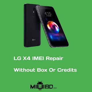 LG X4 (2019) Repair IMEI Without Box Or Credits