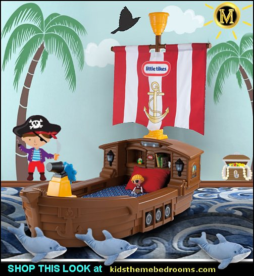 pirate boat bed  pirates bedroom boys pirate bedroom ideas