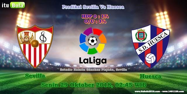 Prediksi Sevilla Vs Huesca - ituBola