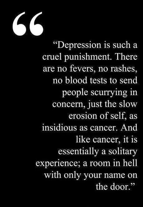 Quotes About Depression (Depressing Quotes) 0078 3