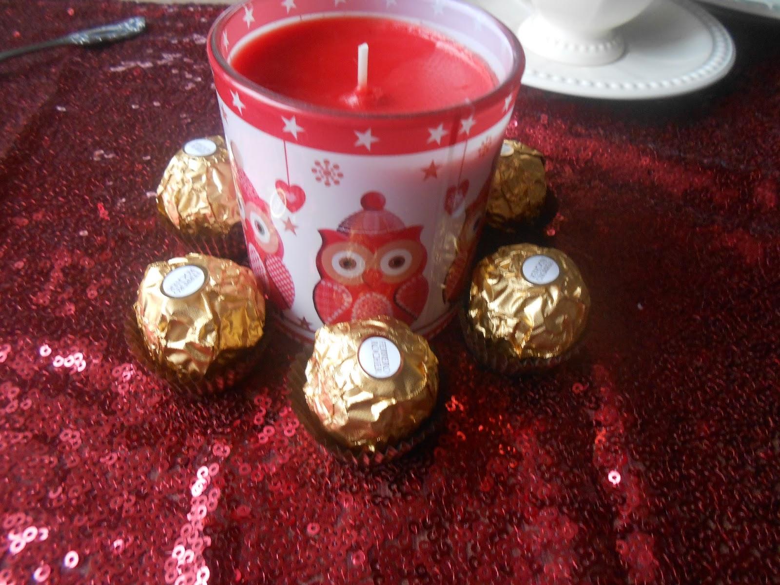 Weihnachtsdeko Ferrero.L A Woman S Testblog Es Wird Festlich Mit Ferrero Rocher