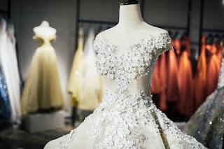 bisnis rental gaun pengantin