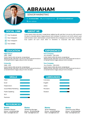 16-Contoh-CV-Simple-dan-Menarik