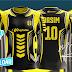 Best Football Shirt Design Tutorial + Free Yellow Image Mockup by M Qasim Ali