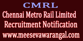 Chennai Metro Rail Limited CMRL Recruitment Notification 2016