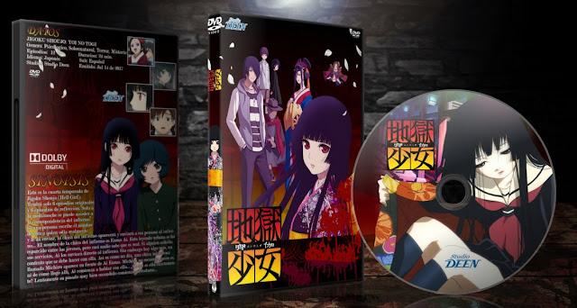 Jigoku Shoujo Yoi no Togi   Cover DVD   MEGA  