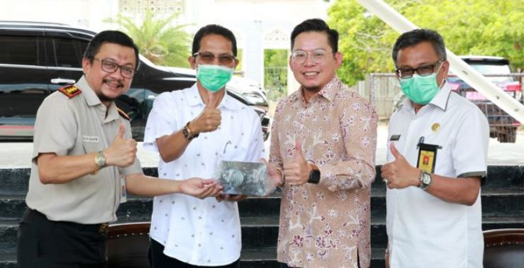 Penanganan Covid-19, Singapura Bantu 4 Thermal Scanner Untuk Batam