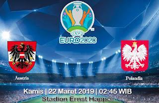 Prediksi Austria vs Polandia 22 Maret 2019