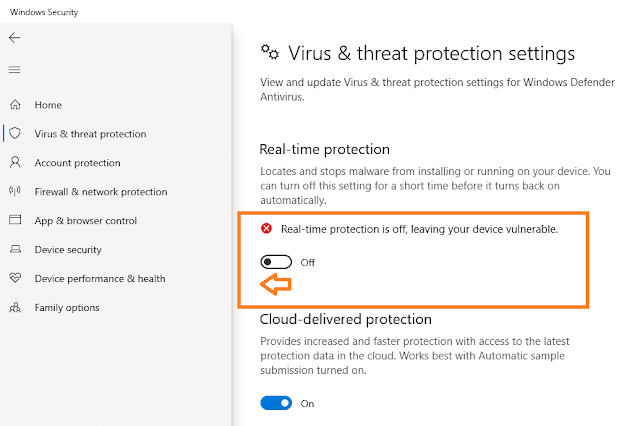 How To Turn On/Off Windows Defender In Windows 10   Real Time Protection