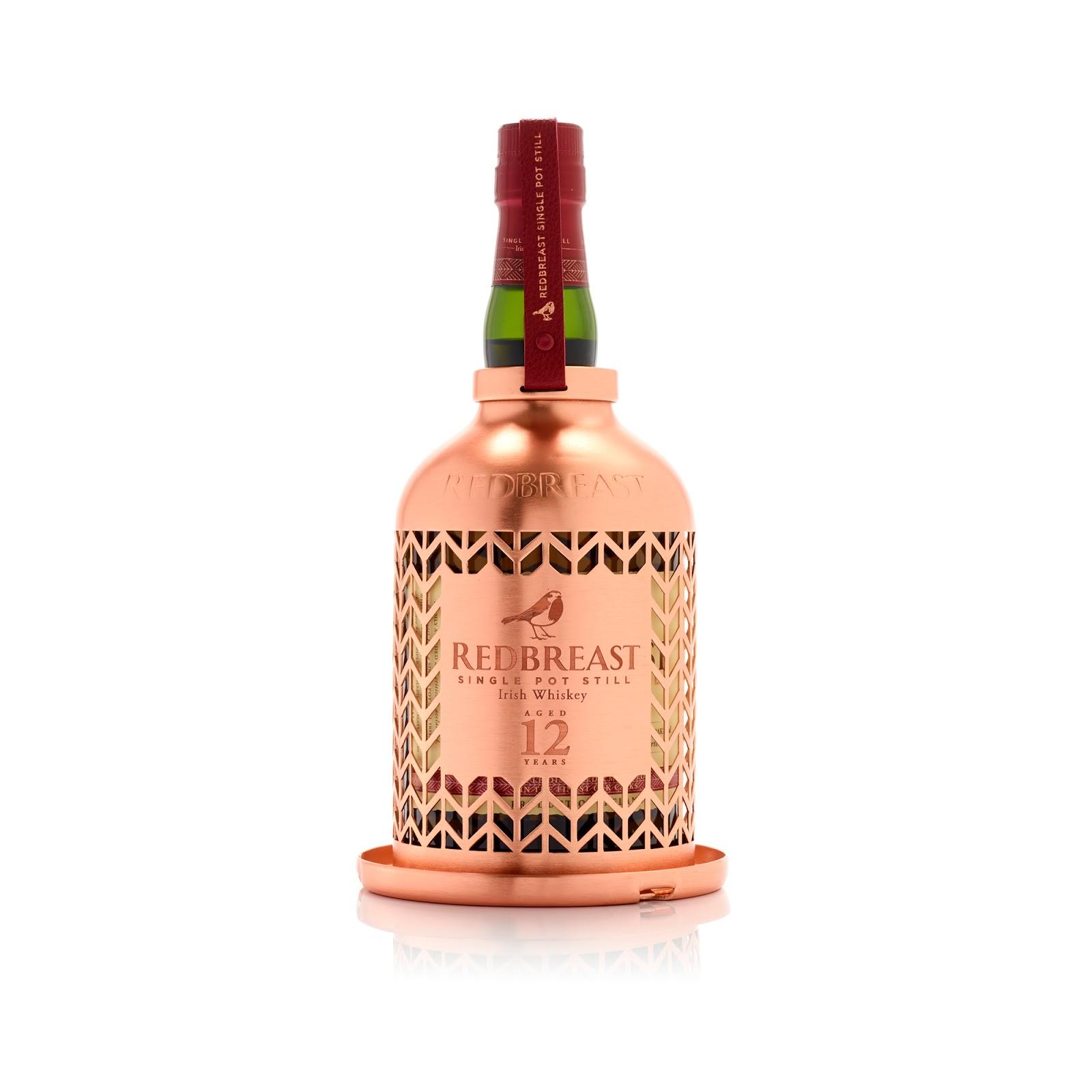 Redbreast Whiskey Bird Feeder Bottle