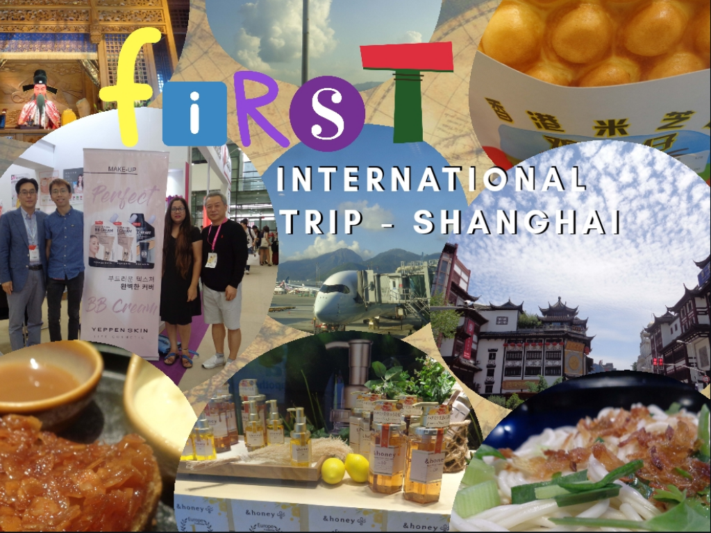 First International Trip - Shanghai