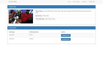 Youtube VHN Crawler 0.2 - Code Bắt Link Download Video Từ Youtube (API Youtube)