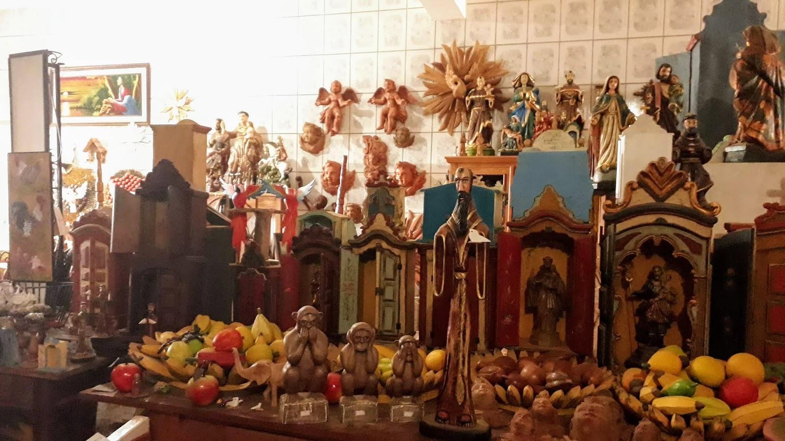 Loja de artesanato de Prados - senhor Eurico