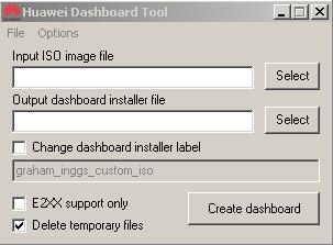 Dashboard for Huawei Modems