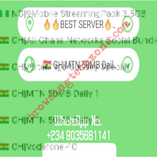 Latest MTN Ghana free browsing cheat