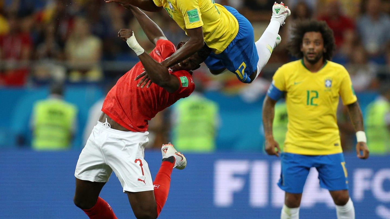 Brasil 1 x 1 Suíça