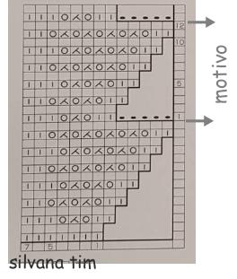 patron diagrama grafico silvana tim
