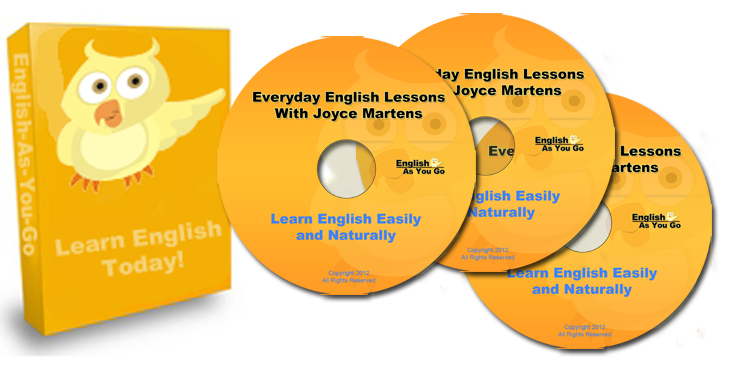 Speak English: Everyday English Lessons with Joyce Martens