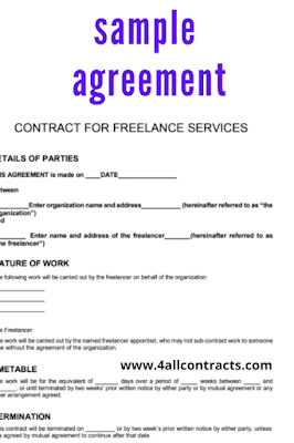 Sample service agreement template pdf