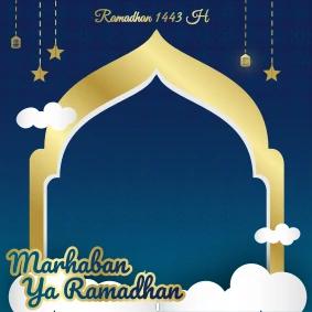 Free File .PSD  : Download Kumpulan Twibbon Ramadhan Photoshop