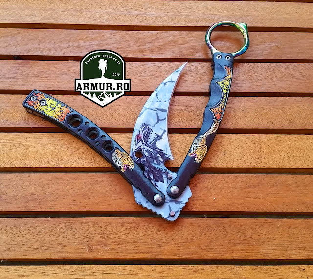 balisong butterfly fluturas cutit briceag model 2019