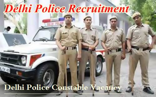 Delhi Police Recruitment - Listofjobs.in