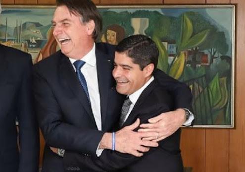 'O presidente gostaria muito de caminhar com ACM Neto', diz Eduardo Bolsonaro