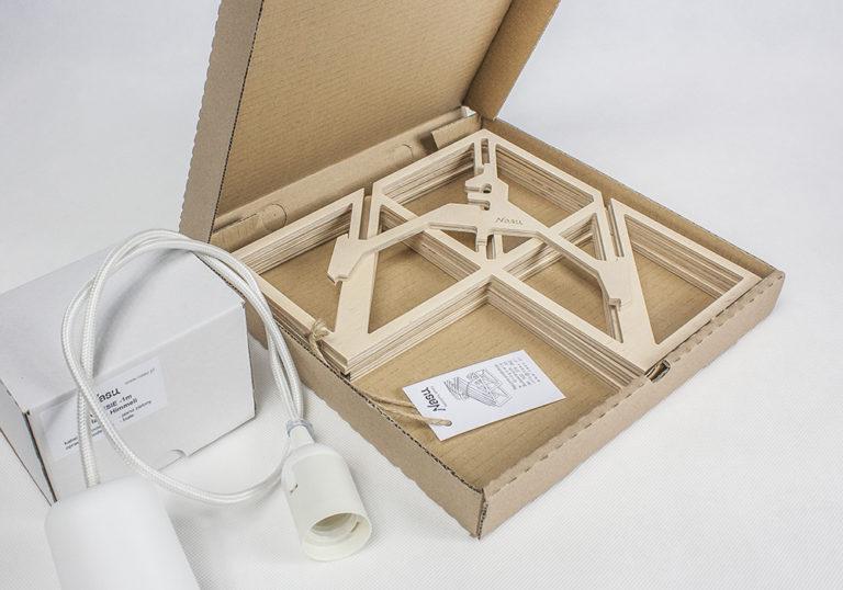 LAMP PUZZLE 3D