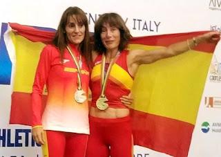 Esther Colás y Nuria Grijalba