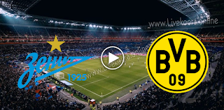 مشاهدة مباراة بوروسيا دورتموند وزينيت الروسي بث مباشر بتاريخ 28-10-2020 في دوري أبطال أوروبا